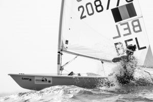 The 2015 Laser Women's Radial World Championship. Mussanah. Oman. November 18-26 November. Day 5 of racing - 
