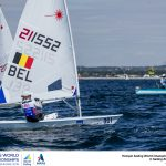 Aarhus, Denmark is hosting the 2018 Hempel Sailing World Championships from 30 July to 12 August 2018. More than 1,400 sailors from 85 nations are racing across ten Olympic sailing disciplines as well as Men's and Women's Kiteboarding.  40% of Tokyo 2020 Olympic Sailing Competition places will be awarded in Aarhus as well as 12 World Championship medals. ©PEDRO MARTINEZ/SAILING ENERGY/AARHUS 2018 03 August, 2018.