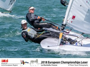 2018 European Championship Laser, La Rochelle 03 0738