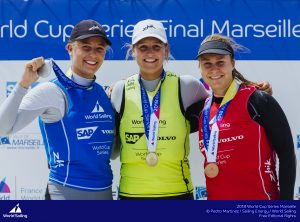 Sailing's 2018 World Cup Series will conclude with the Final in Marseille, France from 3-10 June 2018. Following three Rounds in Japan, USA and France, the Final sees the Series Champions crowned in eight fleets. A total of 212 sailors from 34 nations will race in 156 boats in Marseille.  © Pedro Martinez/Sailing Energy/World Sailing